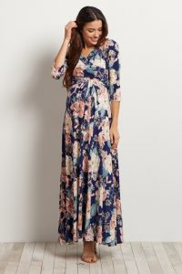 maternity maxi dress for baby showers